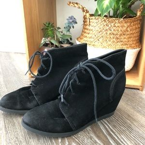 Madden Girl Perfect Black Wedge Boot
